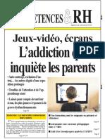 Jeux-Video Ecrans Laddiction Qui Inquiete Les Parents