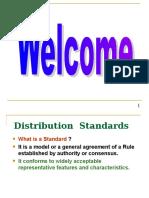 Distribution Standards & Estimation