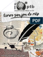 eBook PTGPTB 17 Ecrire Son Jeu de Role