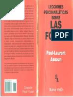 Lecciones Psicoanalíticas Sobre Las Fobias-Paul Laurent Assoun