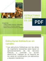 Estructuras Hidraulicas en Canales