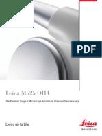 Leica M525 OH4 Brochure En