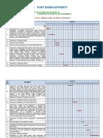 Activity Schedule, WORK PLAN Form-6 Draft Final