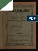 Brazila Esperantisto, Novembro 1910