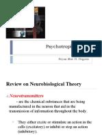 Psychotropic Drugs/Psychopharmacology