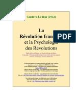 Gustave-Le-Bon -[La Revolution et la Psy des Revolutions].pdf