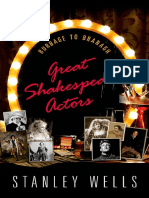 Great Shakespeare Actors - Burbage to Branagh - 1st Edition (2015)