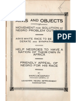 Aims and Objects of UNIA Outlined