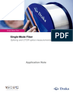 Application Note_Splicing and OTDR Measurements
