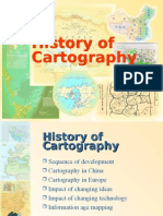 SUG243 - History of Cartography