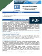Informativo STF 846