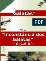 Estudo Bíblico - A Inconstância Dos Galatas
