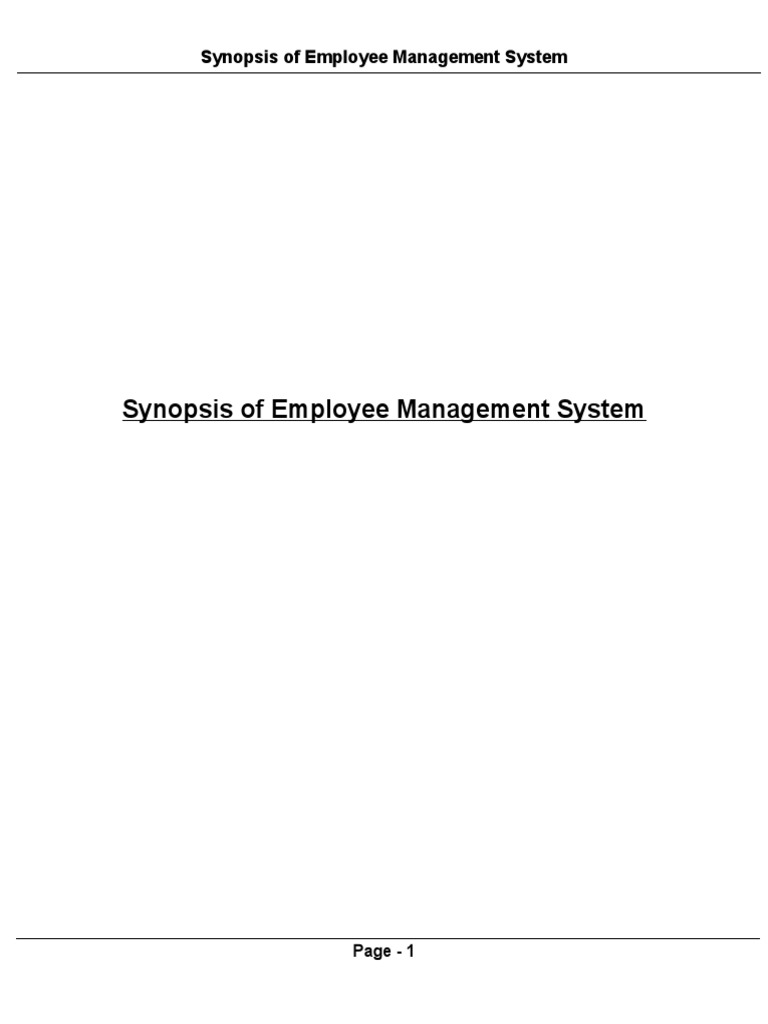 Synopsis of employee management system relational database model synopsis of employee management system relational database modelviewcontroller ccuart Gallery