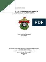 Pengelolaan DPI Berdasarkan Kearifan Lokal INCE