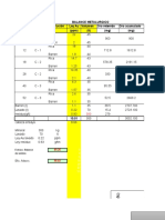 Balance Columna Oro Excel