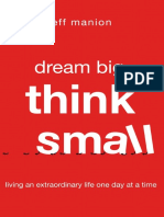 Dream Big, Think Small Sample