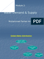 Module - 2 Water Demand & Supply.pptx