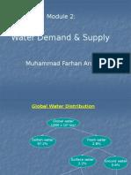 Module - 2 Water Demand & Supply.pptx