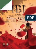 Folleto de Actos Oficiales Moros y Cristianos Ibi 2016