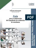 38_e2_guia Academica Expedientes de Evidencias de Enseñanza e.f.