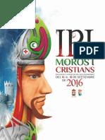 2016 - Libro Oficial de Fiestas de Moros y Cristianos de Ibi