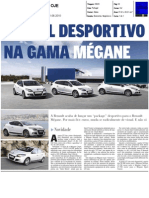 "MÉGANE GT LINE NO JORNAL ""OJE"""