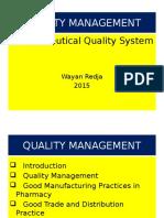 Quality Management 2016