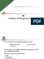 Regresión Lineal Múltiple