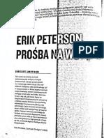 Erik Peterson Monoteizm Jako Problem Polityczny z ResPublika Ok