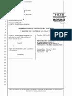 Spangenberg Uber lawsuit
