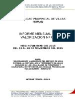 INFORME VALORIZ Nº01