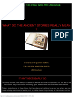 What Do the Ancient Bible Stories Really Mean
