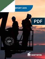 Sarens Annual Report 2015