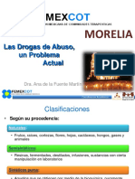 01 Las Drogas de Abuso - FEMEXCOT