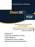 Arquitectura de Cisco Unified Communications