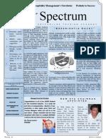Spectrum Newsletter 1