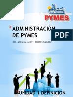 administración pymes