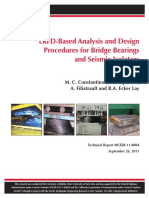 CONSTANTINOU KALPAKIDIS - LRFD-Based Analysis and Design Procedures for Bridge Bearings and Seismic Isolators
