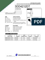 3dd4212dt Transistor