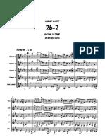 Coltrane, John_ 26_2 clarinet quintet_score coro cl..pdf