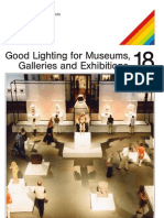 Good Lighting for Museums Galleries and Exhibitions