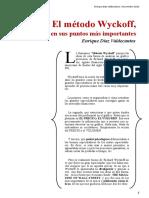 Ideas Principales Del Metodo Wyckoff