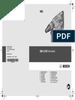 Gbh 11 de Professional Manual