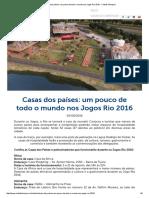 Casas dos países_ um pouco de todo o mundo nos Jogos Rio 2016 - Cidade Olimpica.pdf