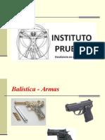 1.Balística Armas