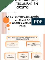 Evaluacion de La Gestion ( Institucional y Plan de Mejoramiento) 2010