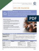 vol life benefit summary
