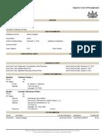 Superior Court Case No. Case No. 1219 MDA 2016 Preliminary Injunction Appeal v. Lancaster City Police DOCKET SHEET for Monday December 12 2016