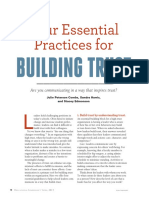 four essential practices for building trust