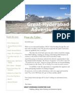 Great Hyderabad Adventure Club Newsletter June 2010